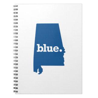 ALABAMA BLUE STATE NOTEBOOK
