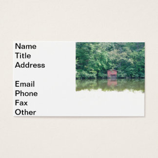 Alabama Boat House Business Card