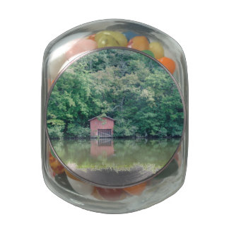 Alabama Boat House Glass Jars