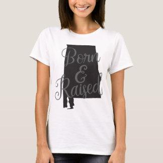 Alabama Born & Raised T-Shirt