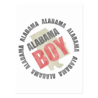 Alabama Boy Postcard