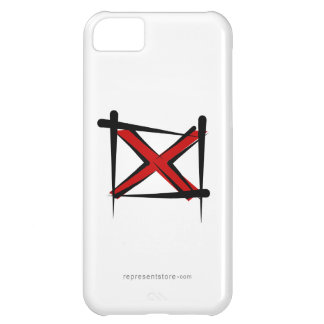 Alabama Brush Flag Cover For iPhone 5C