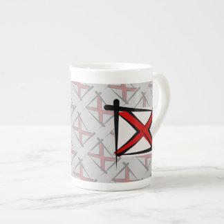 Alabama Brush Flag Tea Cup