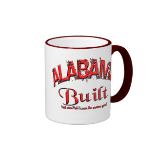 Alabama Built Mug