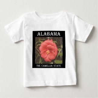 Alabama Camellia (Red) Baby T-Shirt