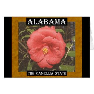 Alabama Camellia (Red) Card