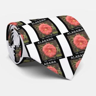 Alabama Camellia (Red) Neck Tie