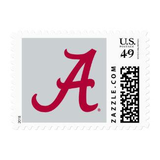 Alabama carmesí A Timbres Postales
