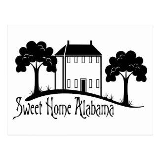 Alabama casera dulce tarjetas postales
