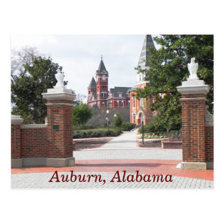 Alabama castaña -- postal