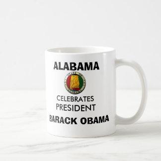 ALABAMA Celebrates President BARACK OBAMA Keepsake Coffee Mug