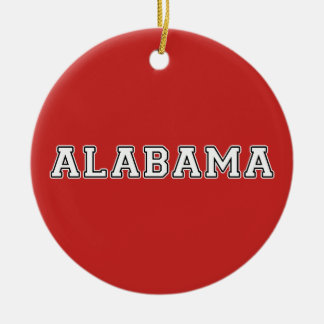 Alabama Ceramic Ornament