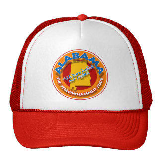 Alabama circle cap trucker hat