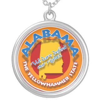 Alabama circle necklace