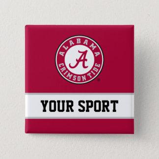 Alabama Circle with Custom Sport Button