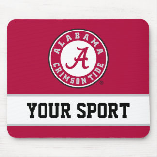 Alabama Circle with Custom Sport Mouse Pad