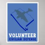Alabama Civilian Defense -- WPA Poster