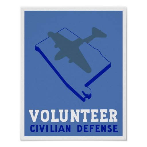 Alabama Civilian Defense -- WPA Posters