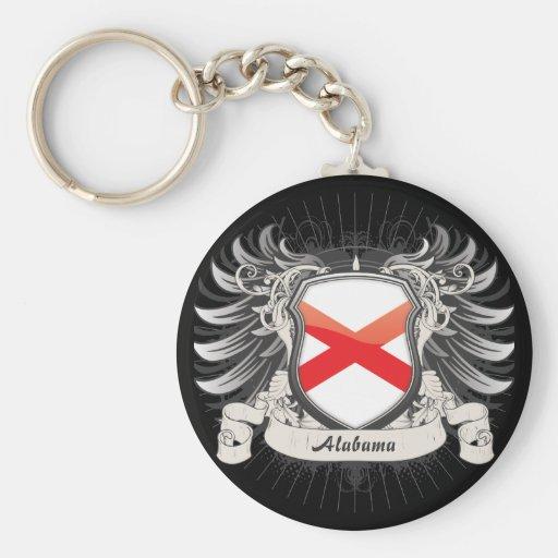 Alabama Crest Key Chain
