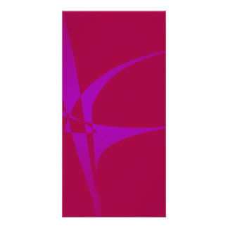 Alabama Crimson Simple Abstract Minimalism Photo Cards