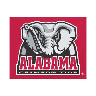 Alabama Crimson Tide Big Al Canvas Print