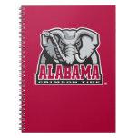 Alabama Crimson Tide Big Al Notebook