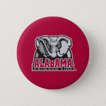 Alabama Crimson Tide Big Al Pinback Button