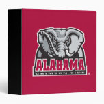 Alabama Crimson Tide Big Al Vinyl Binders