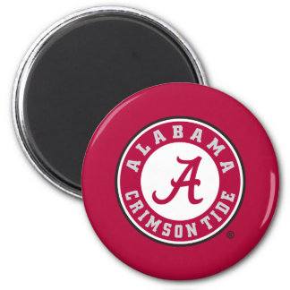 Alabama Crimson Tide Circle 2 Inch Round Magnet