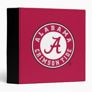 Alabama Crimson Tide Circle 3 Ring Binder