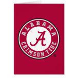 Alabama Crimson Tide Circle Card