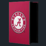 """Alabama Crimson Tide Circle Case For iPad Air<br><div class=""""desc"""">Check out these official Alabama Crimson Tide Logo products! Show your Crimson Tide pride by getting your Bama gear here.  These products will allow you to take your Alabama spirit with you wherever you go!</div>"""