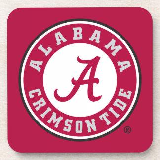 Alabama Crimson Tide Circle Coaster