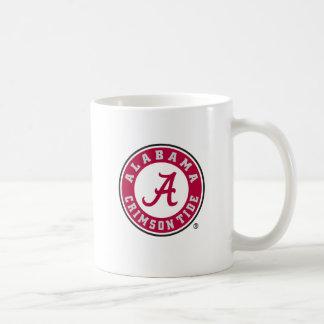 Alabama Crimson Tide Circle Coffee Mug
