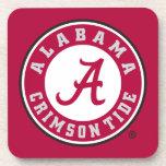 Alabama Crimson Tide Circle Drink Coasters