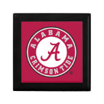 Alabama Crimson Tide Circle Gift Box
