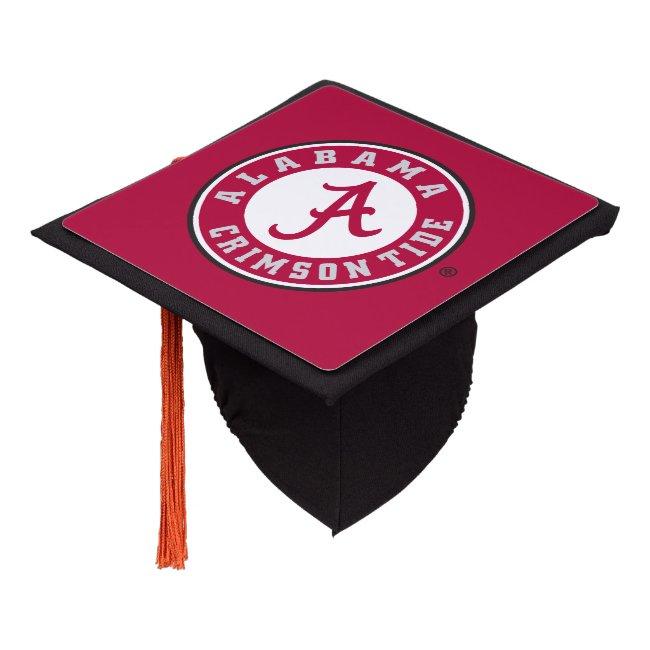Alabama Crimson Tide Circle Graduation Cap Topper