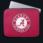 "Alabama Crimson Tide Circle Laptop Sleeve<br><div class=""desc"">Check out these official Alabama Crimson Tide Logo products! Show your Crimson Tide pride by getting your Bama gear here.  These products will allow you to take your Alabama spirit with you wherever you go!</div>"