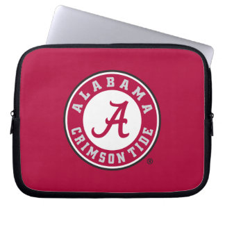Alabama Crimson Tide Circle Laptop Sleeve