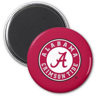 Alabama Crimson Tide Circle Magnet