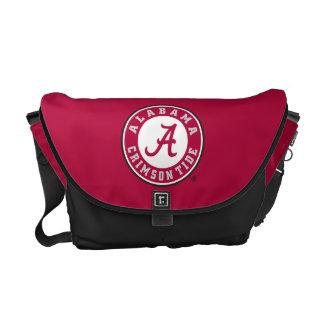 Alabama Crimson Tide Circle Messenger Bag