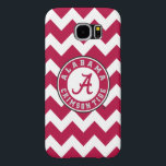 "Alabama Crimson Tide Circle Samsung Galaxy S6 Case<br><div class=""desc"">Check out these official Alabama Crimson Tide Logo products! Show your Crimson Tide pride by getting your Bama gear here. These products will allow you to take your Alabama spirit with you wherever you go!</div>"