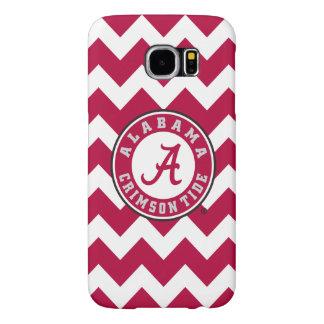 Alabama Crimson Tide Circle Samsung Galaxy S6 Case