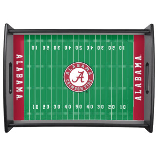 Alabama Crimson Tide Circle Serving Tray