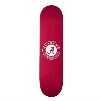 Alabama Crimson Tide Circle Skateboard