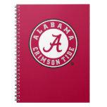 Alabama Crimson Tide Circle Spiral Notebook
