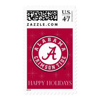 Alabama Crimson Tide Circle Stamp