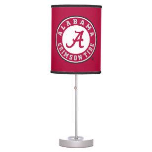 Alabama Crimson Tide Circle Table Lamp