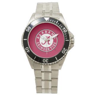 Alabama Crimson Tide Circle Wrist Watches