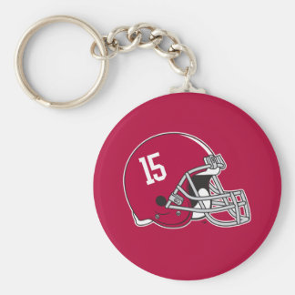 Alabama Crimson Tide Football Helmet Keychain